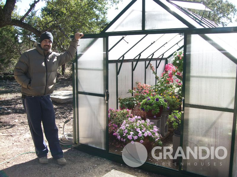 Customer Greenhouse Gallery D Saidi Grandio Greenhouses