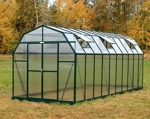 Grandio Elite 8x20 Barn Style Greenhouse 2015 Model