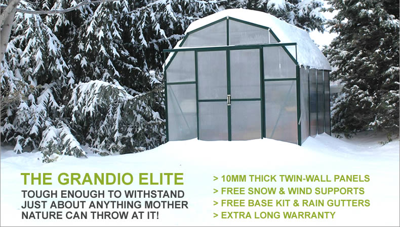 Grandio Greenhouse Kits - Where Gardens Begin
